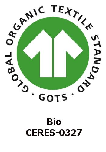 GOTS logo van Bausinger
